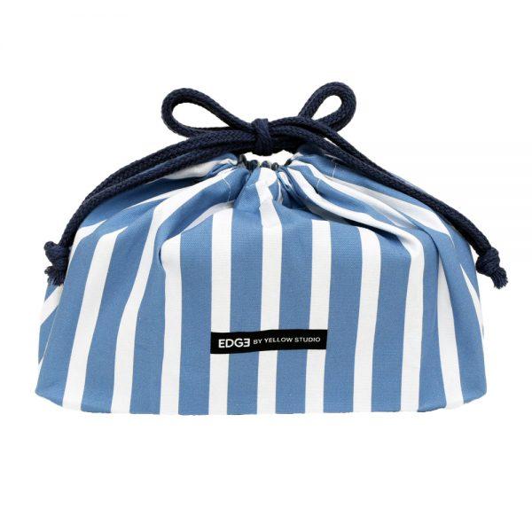 '20 EDGE ランチ巾着 ブルー