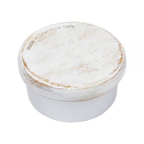 Made in Grandma Cafe アルミランチボックス ホワイト
