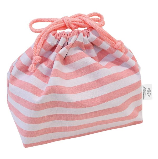 G.n.c ランチ巾着 ピンク