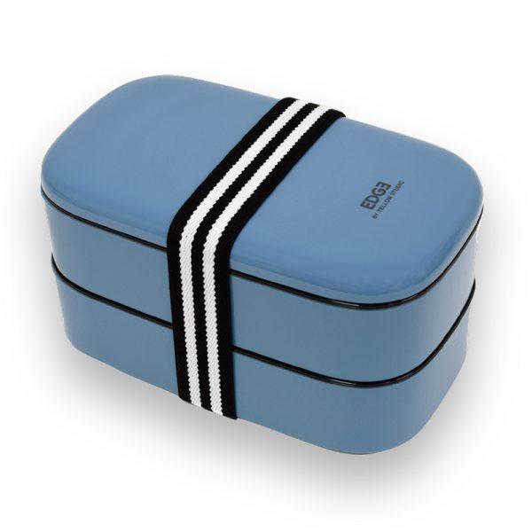 '20 EDGE オーバルランチボックス ブルー