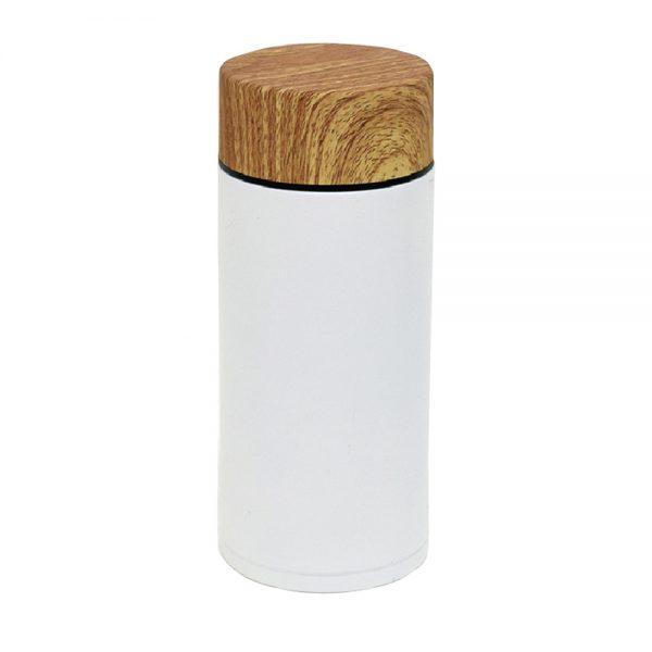 ステンレスボトル400ml ホワイト