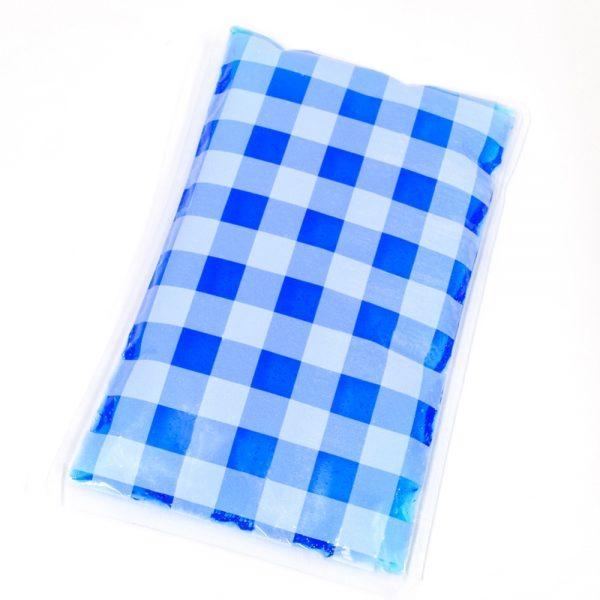 チェック 保冷剤 ブルー